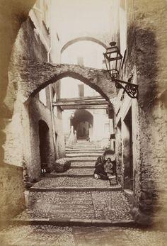 1892 - San-Remo via Capitol. Photographe : Jean Giletta