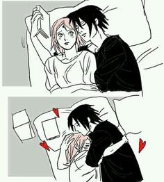Image shared by uchiha_. Find images and videos about love, anime and manga on We Heart It - the app to get lost in what you love. Sasuke Shippuden, Sasuke Uchiha Sakura Haruno, Naruto Sasuke Sakura, Sasusaku Doujinshi, Naruhina, Ninja Girl, Boruto Naruto Next Generations, Manga Anime, Red Eyes