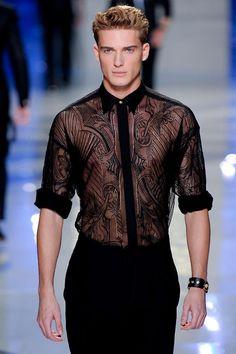 Versace S/S 2012 Menswear