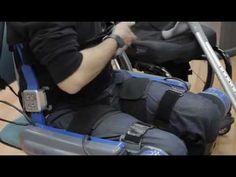 Paralyzed Woman in Bionic Suit Runs Marathon