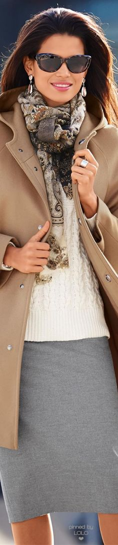 Madeleine Wool Coat | LOLO❤