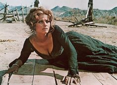 Claudia Cardinale in 'Once Upon a Time in the West' -