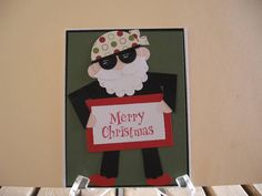 Biker Merry Christmas by graffiti - Cards and Paper Crafts at Splitcoaststampers
