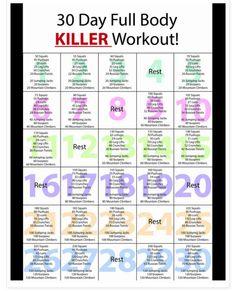 Full-body month challenge
