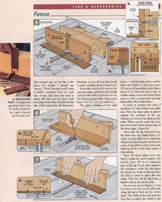 image of #456 Box Joint Jig Plans