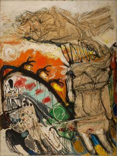 Intimidad de un tímido (1963) Óleo, telas encoladas, pedrería sobre tela - Jorge de la Vega (Argentina 1930.1971) Museo Nacional de Bellas Artes de Buenos Aires