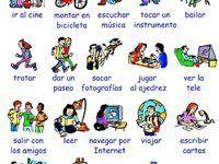 Tiempo libre, actividades extraescolares (ficha de vocabulario)
