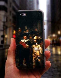 Night Watch Rembrandt Art Painting iPhone 6 S Case, 6 Plus Cover, Samsung Galaxy Case, HTC Case, Sony Xperia Case, LG G4 Case, Huawei Case, Galaxy Note Case, phone case