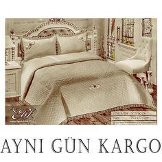 Elif Yatak Örtüsü Çift Kişilik Fransız Güpürlü Vizon Comforters, Blanket, Bed, House, Furniture, Home Decor, Creature Comforts, Quilts, Decoration Home