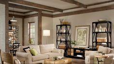 Industrial Furniture Living Room Setup