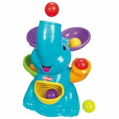 BabyZone: Learning Toys for Babies 6 to 12 Months | Playskool Poppin Park Elefun Busy Ball Popper