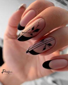 Edgy Nails, Chic Nails, Stylish Nails, Fabulous Nails, Gorgeous Nails, Nail Art Arabesque, Gel Nails, Cute Acrylic Nails, Nagellack Design