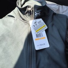 Under armour jacket Wear this to feel dry and light. Semi fitted Under Armour Jackets & Coats