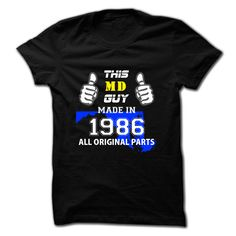 This Maryland Guy ヾ(^▽^)ノ Made in 1986Hey, are you made in 1986 Maryland Guy ?  Then, this shirt is for you. If not matching your age and state, pls search accordingly.This Maryland Guy Made in 1986
