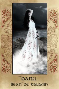 The Goddess Danu, legendary Matriach of the Tuatha De Danaan, is said to be an…