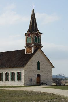 This is my family history. My great grandparents church. St. Olaf Lutheran Church, Cranfills Gap, TX