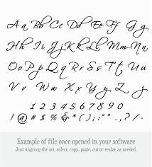 Image result for scriptina regular font alphabet
