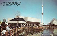 Le jardin des étoiles Expo 67 Montreal, Quebec Montreal, Montreal Ville, World's Fair, Cn Tower, Places Ive Been, Photos, Architecture, Travel