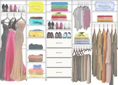 Adult Closet Design 2 made with the CCDS FREE On-Line Image Design system