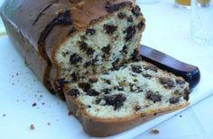 Cake tout moelleux purée d'amandes & pépites de chocolat
