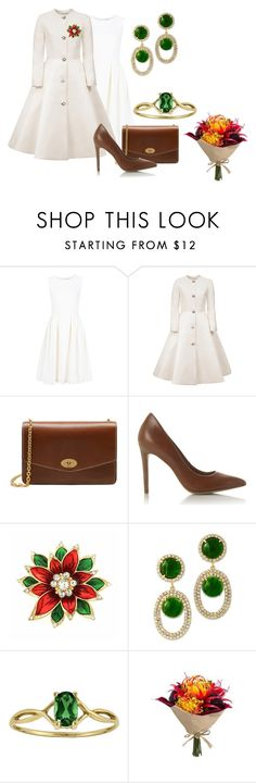 """Без названия #1640"" by svetlana-kazantsewa ❤ liked on Polyvore featuring ADAM, Esme Vie, Mulberry, Monet and Kenneth Jay Lane"