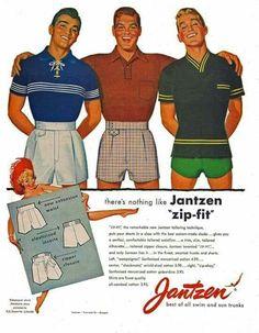 1940s Fashion, Vintage Fashion, Mens Fashion, Fashion Outfits, Mode Vintage, Vintage Men, Americana Vintage, Retro Ads, Looks Vintage