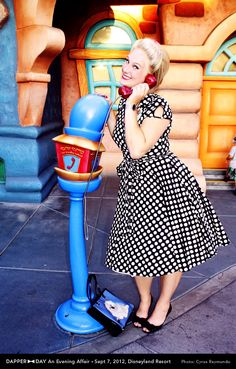 New goal! Attend Dapper Day at Disneyland someday!!