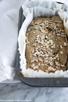 Pão de quinoa. Quinoa bread