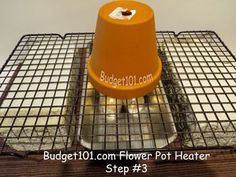 How to make your own flower pot heater