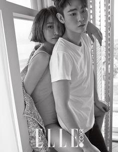 Go Joon Hee and Han Ye Jun - Elle Magazine May Issue '15