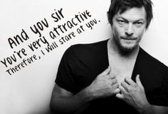 Norman Reedus ~ #gc made ~ thanks for spreading it around! meme