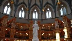 Library of Parliament in Ottawa, Canada
