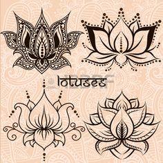 Resultado de imagen de dibujos decorativos hindues