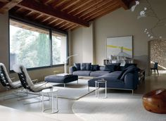 Sofa: FRANK - Collection: B&B Italia - Design: Antonio Citterio