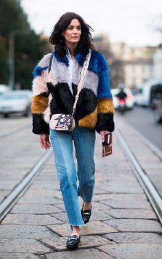 Jeans patchwork: tudo junto e misturado - Moda que Rima