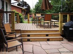 Low deck, patio
