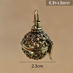 New Fashion Jewelry Hollow Out Flower Pattern Locket Fragrance Essential Oil…