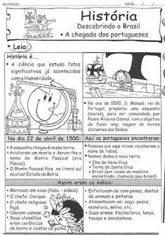 AMIGA DA EDUCAÇÃO.: ATIVIDADES - DESCOBRIMENTO DO BRASIL.
