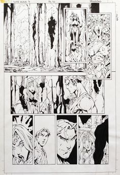 10th Muse #07, page 10 - Roger Cruz, in RogerCruz's 10th Muse #07 Comic…