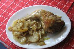 Receta de Muslos de pollo al horno sabrosos