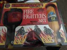 Emergency Squad 51 TV Play Set Sealed Rate