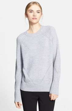Proenza Schouler Mix Stitch Crewneck Sweater | Nordstrom