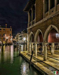 High waters at the fish market in Venice