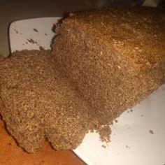 Pan de Linaza al Horno/Método Grez/ Cetogénica /Keto Receta de Romina - Cookpad Keto, Banana Bread, Desserts, Gluten, Food, Healthy Breads, Healthy Food, Diets, Flaxseed Muffins