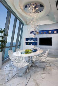 Sumptuous Jade Ocean Penthouse 2 In Sunny Islands Beach by Pfuner Design