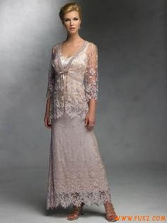 Lace Mother of the Groom Dress with jacket