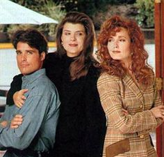 Y and R and B and B Scott, Sheila, and Lauren.  When soap operas were really good