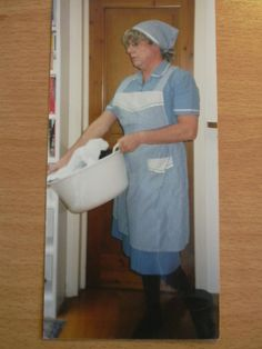 Maid Dress, Maids, Housewife, Blouse, Apron, Storage, Furniture, Home, Decor