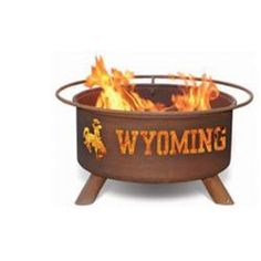 Wyoming Cowboys Hand Crafted Steel Fire Pit