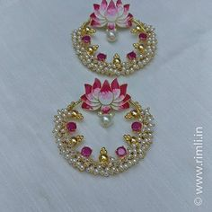 Hand crafted designer earrings . #lightweightearrings . . . #earring #Chandbali #pearls #pinkearrings #designerearrings #statementpiece #chandelierearrings #indianearrings #fashionstatement #fashionaccessories #pink #indianjewellery #festivalfashion #indianwedding #mehndi #floralearrings #floral #chennai #rimliboutique